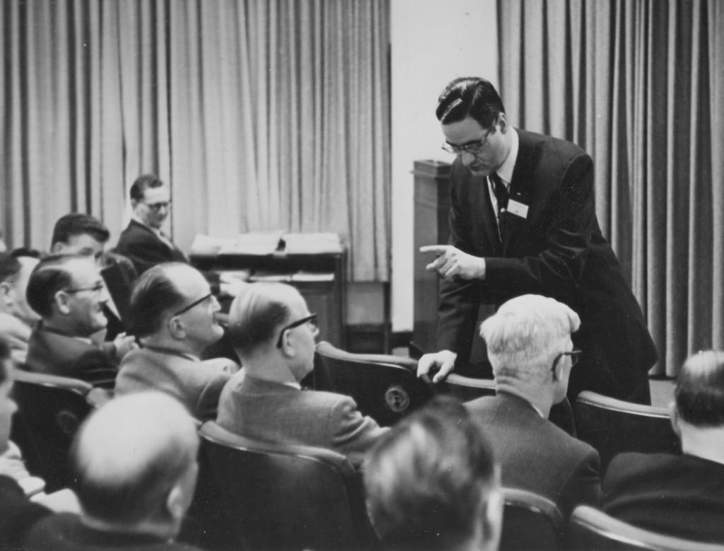 Bernardo Trujillo lors d'une conférence NCR (Dayton - USA)